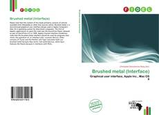Buchcover von Brushed metal (Interface)