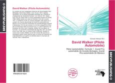 Capa do livro de David Walker (Pilote Automobile)