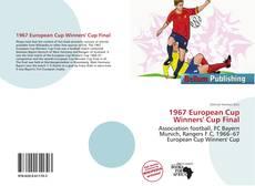 1967 European Cup Winners' Cup Final kitap kapağı