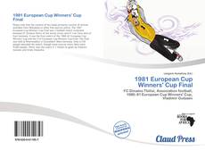 Bookcover of 1981 European Cup Winners' Cup Final