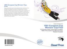 1981 European Cup Winners' Cup Final kitap kapağı