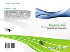 Katherine Legge kitap kapağı