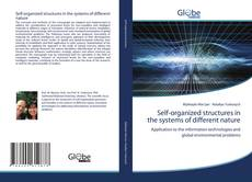 Capa do livro de Self-organized structures in the systems of different nature