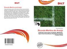 Capa do livro de Ricardo Martins de Araújo