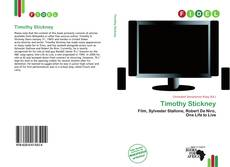 Bookcover of Timothy Stickney