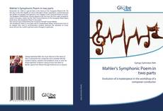 Capa do livro de Mahler's Symphonic Poem in two parts