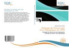 Bookcover of Patinage de Vitesse aux Jeux Olympiques de 1994