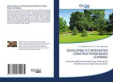 Capa do livro de DEVELOPING ICT INTEGRATED CONSTRUCTIVISM BASED LEARNING
