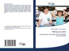 Bookcover of Mening ona tilim