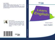 Bookcover of Learn English
