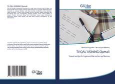 Til QAL'ASINING Qamali kitap kapağı