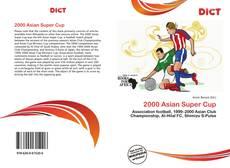 Capa do livro de 2000 Asian Super Cup
