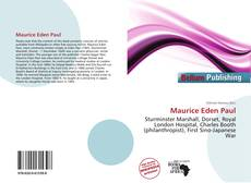 Bookcover of Maurice Eden Paul