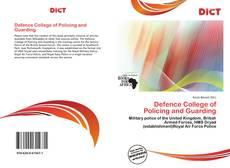 Defence College of Policing and Guarding kitap kapağı