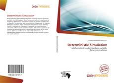 Deterministic Simulation kitap kapağı