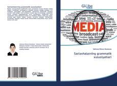Bookcover of Sarlavhalarning grammatik xususiyatlari