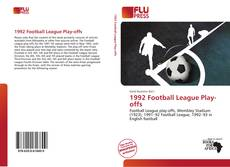 Buchcover von 1992 Football League Play-offs