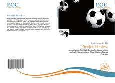 Capa do livro de Nicolás Sánchez