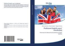 Copertina di Proficient English users' vocabulary