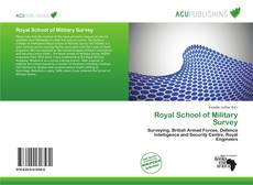 Bookcover of Royal School of Military Survey