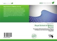 Buchcover von Royal School of Military Survey