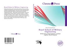 Portada del libro de Royal School of Military Engineering