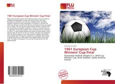 Bookcover of 1961 European Cup Winners' Cup Final