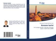 Capa do livro de Xorazm tarixi