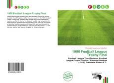 Portada del libro de 1990 Football League Trophy Final