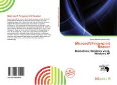 Capa do livro de Microsoft Fingerprint Reader