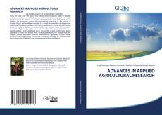 Buchcover von ADVANCES IN APPLIED AGRICULTURAL RESEARCH