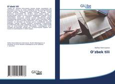 Buchcover von O'zbek tili