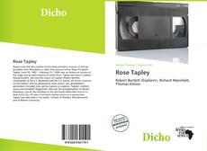 Buchcover von Rose Tapley