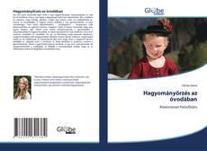 Buchcover von Hagyományőrzés az óvodában