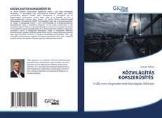 Buchcover von KÖZVILÁGÍTÁS KORSZERŰSÍTÉS