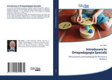 Bookcover of Introducere ?n Ortopedagogia Special?