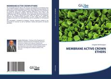 Capa do livro de MEMBRANE ACTIVE CROWN ETHERS