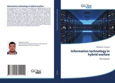 Buchcover von Information technology in hybrid warfare