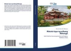 Bookcover of Matuto tayo ng wikang Nihongo