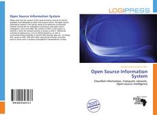 Bookcover of Open Source Information System
