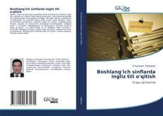 Boshlang'ich sinflarda ingliz tili o'qitish kitap kapağı