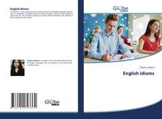 Borítókép a  English idioms - hoz