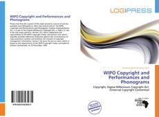 WIPO Copyright and Performances and Phonograms kitap kapağı