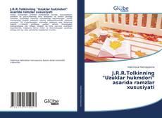 """J.R.R.Tolkinning """"Uzuklar hukmdori"""" asarida ramzlar xususiyati kitap kapağı"""