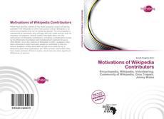 Borítókép a  Motivations of Wikipedia Contributors - hoz
