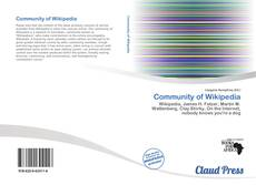 Обложка Community of Wikipedia