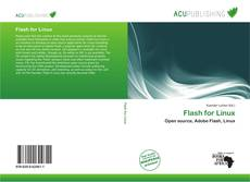 Capa do livro de Flash for Linux