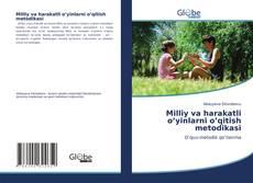 Buchcover von Milliy va harakatli o'yinlarni o'qitish metodikasi