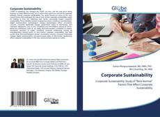Bookcover of Corporate Sustainability