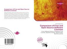 Bookcover of Comparison of Free and Open Source Software Licenses